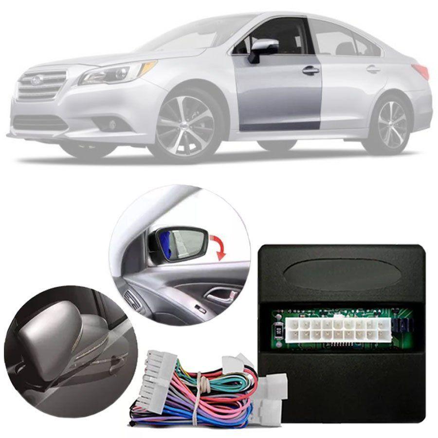 Módulo Tiltdown e Rebatimento de Retrovisor Elétrico Subaru Legacy | WRX 2015 em Diante | Outback 2010 em Diante | Forester 2013 em Diante PARK 3.3.7 N