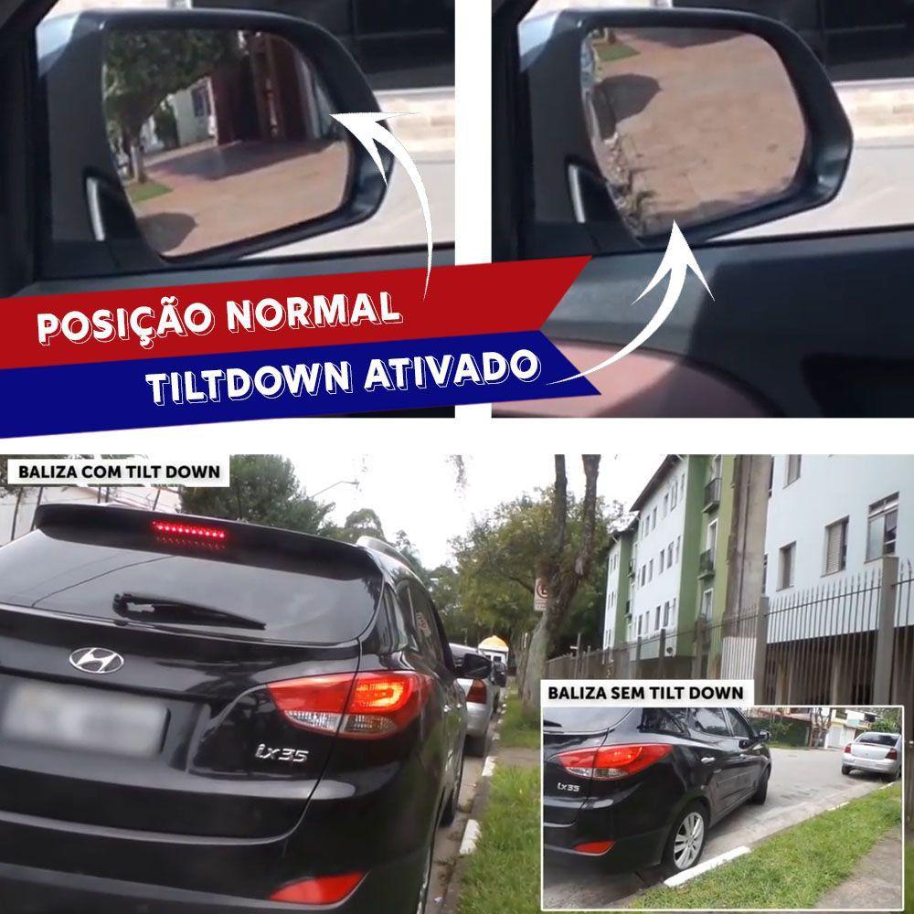 Módulo Tiltdown Inclina Espelho Retrovisor Elétrico Fiat Strada 2008 09 10 11 12 13 14 15 16 17 PARK 1.2.6 BH