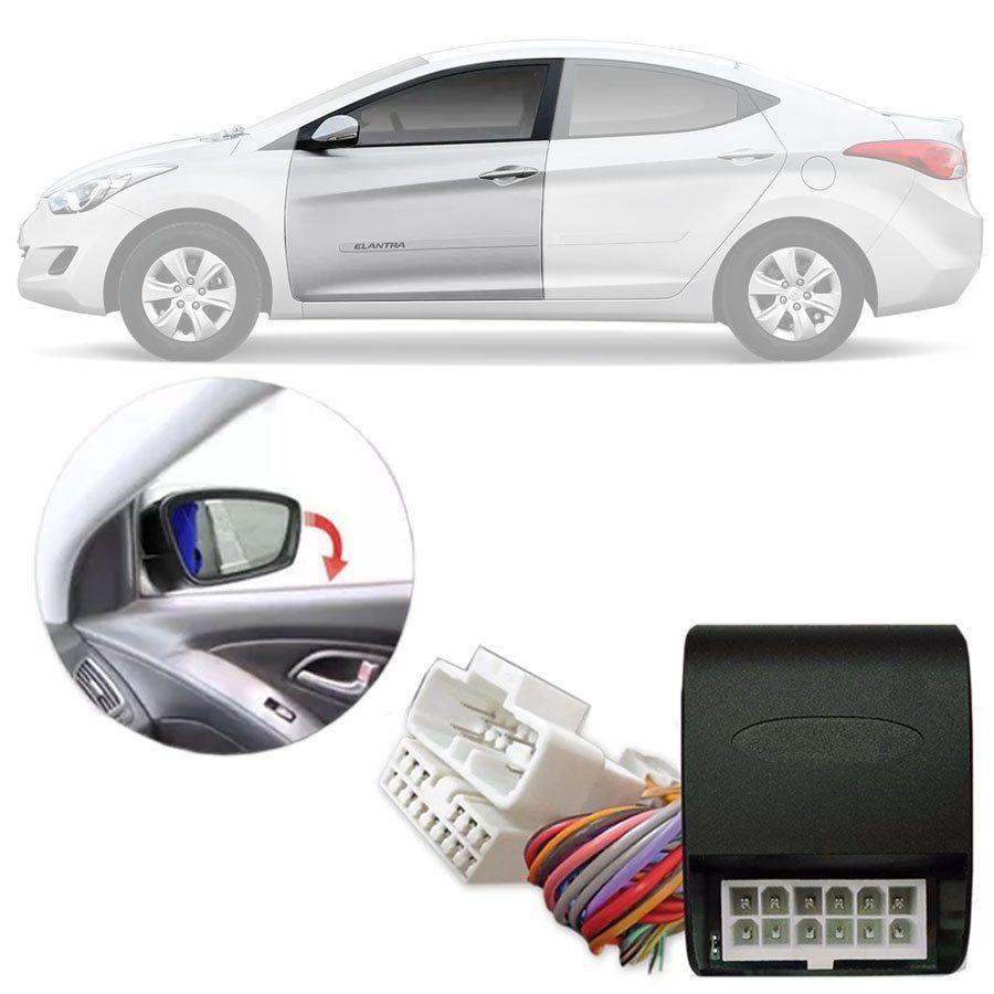 Módulo Tiltdown Inclina Retrovisor Elétrico Hyundai Elantra 2011 12 13 14 15 16 PARK 1.2.4 BF