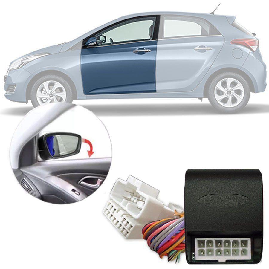 Módulo Tiltdown Inclina Retrovisor Elétrico Hyundai HB20 2013 14 15 16 17 18 19 Sem Sistema de Rebatimento Original PARK 1.0.0 Q