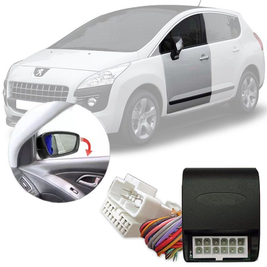 Módulo Tiltdown Inclina Retrovisor Elétrico Peugeot 3008 2011 12 13 14 15 16 PARK 1.50.10 CI