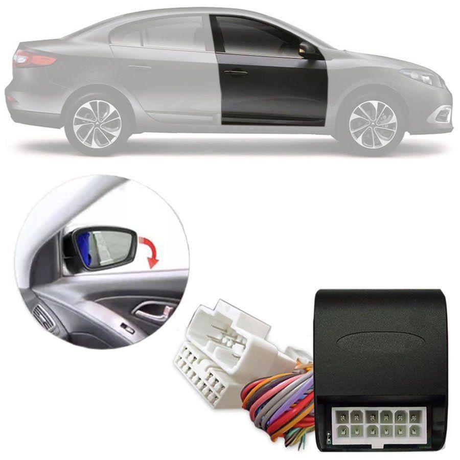 Módulo Tiltdown Inclina Retrovisor Elétrico Renault Fluence Dynamique 2015 16 17 18 19 PARK 1.53.7 AR