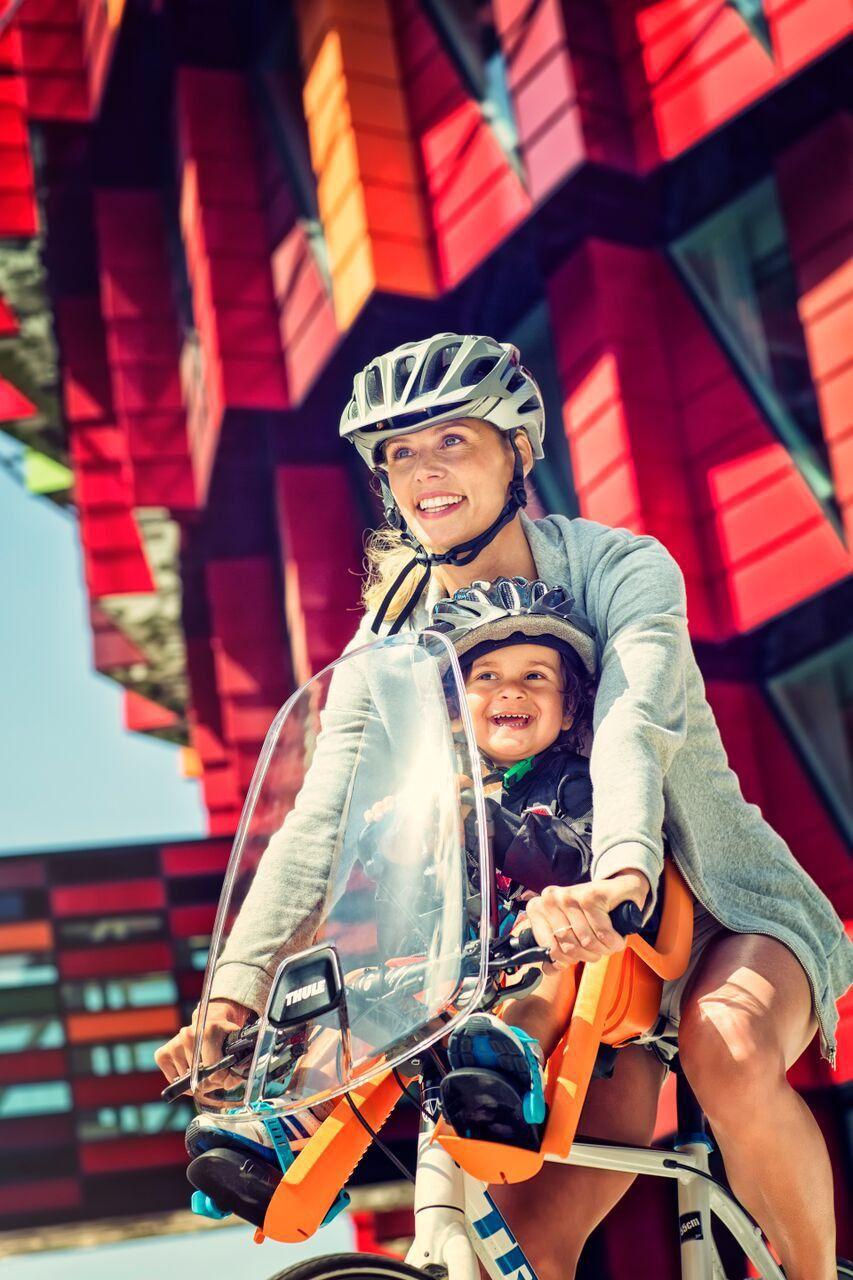 Para-brisa Para Cadeirinha de Bicicleta Thule RideAlong Mini
