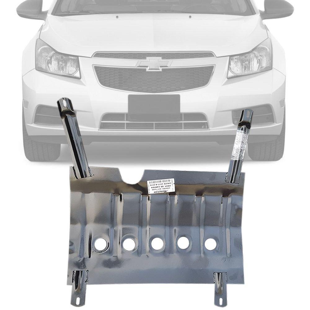 Protetor de Carter Completo Chevrolet Cruze 2013 14 15 16 Com Parafusos Fixadores
