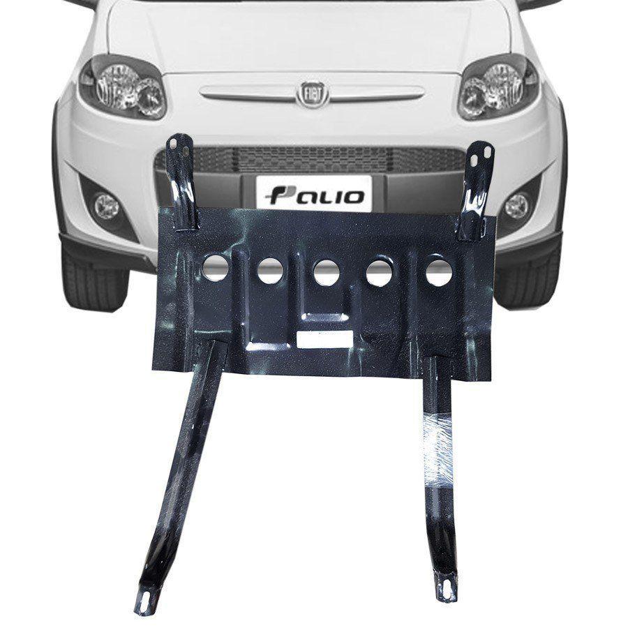 Protetor de Carter Completo Fiat Palio Uno 2014 15 16 17 18 Com Parafusos Fixadores