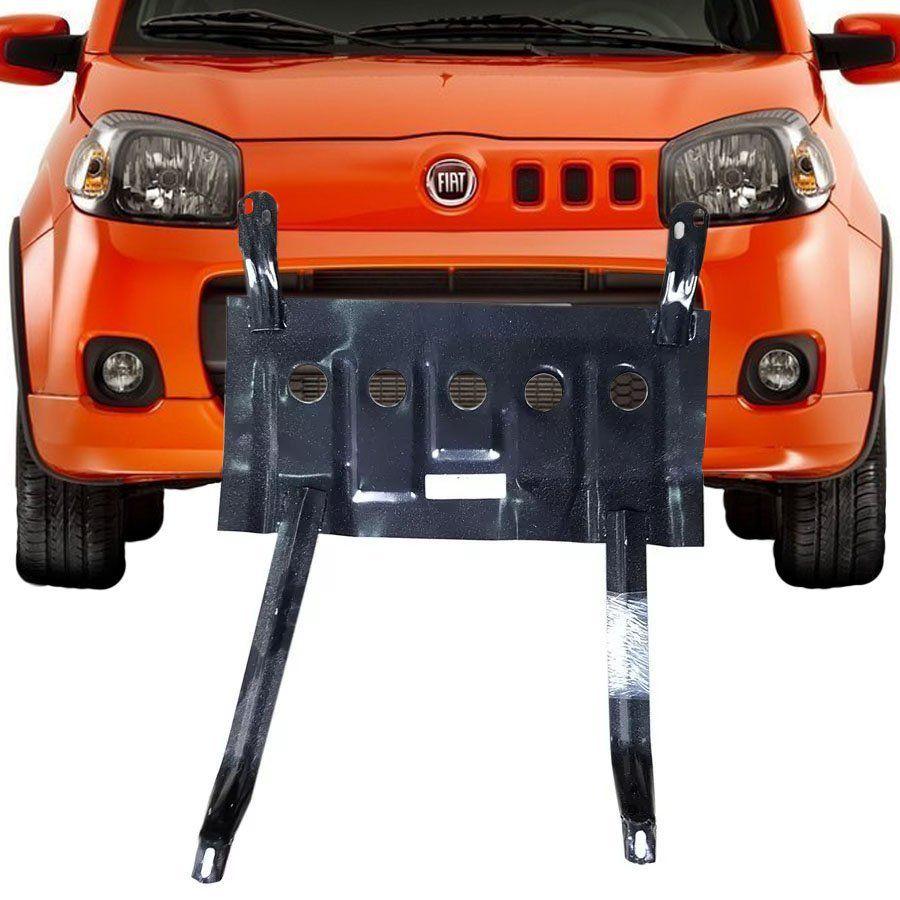 Protetor de Carter Completo Fiat Uno 2011 12 13 14 15 16 17 18 Peito de Aço