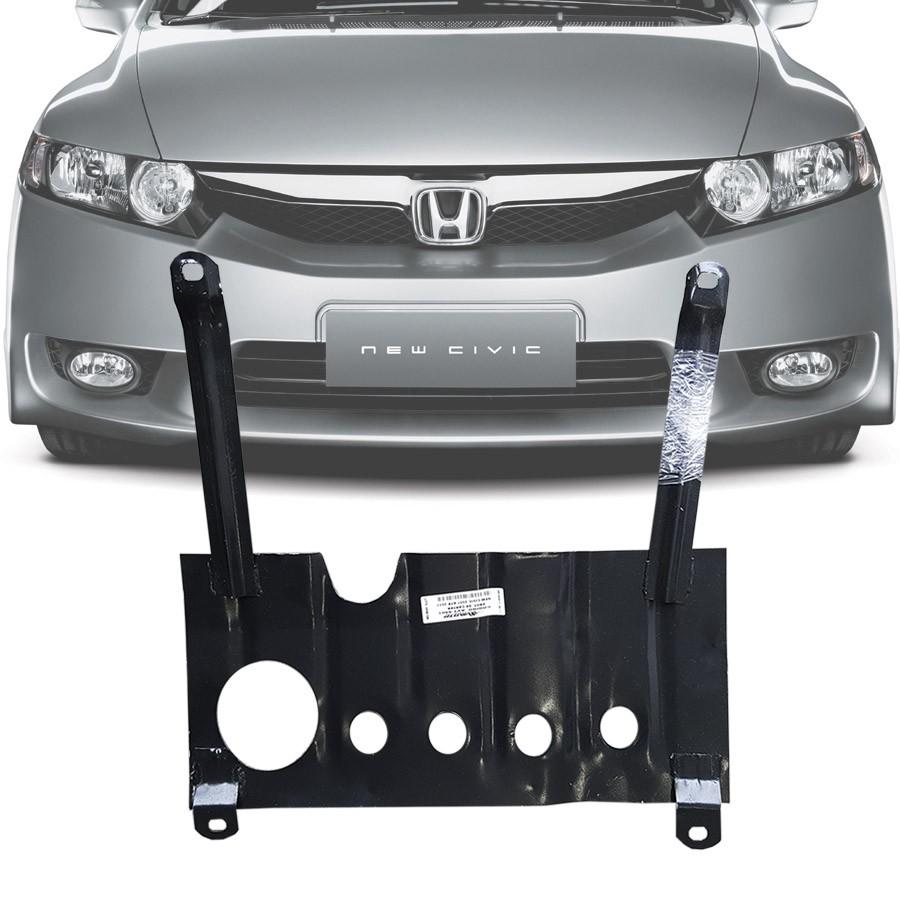 Protetor de Carter Completo Honda New Civic 2007 08 09 10 11 Com Parafusos Fixadores