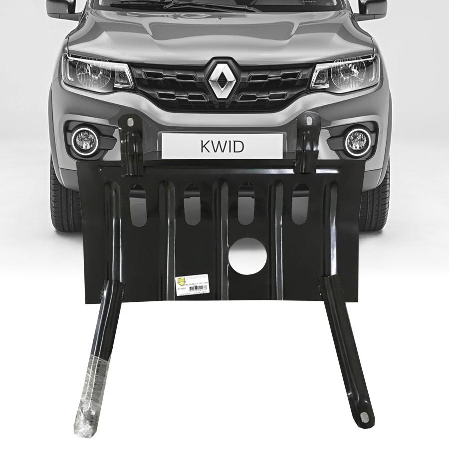 Protetor de Carter Completo Renault Kwid 2017 18 Com Parafusos Fixadores