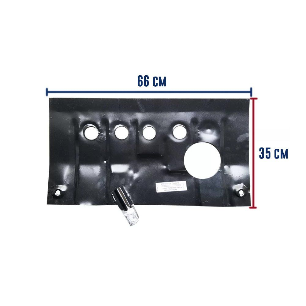 Protetor de Carter Completo Volkswagen Polo Fox Gol G5 G6 G7 2009 Até 2018 Com Parafusos Fixadores