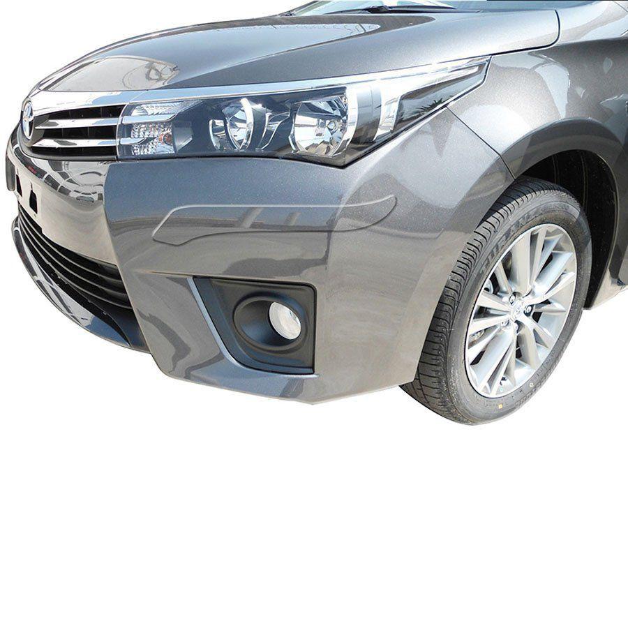 Protetor de Para Choque Aplique Adesivo Toyota Corolla 2005 06 07 08 09 10 11 12 13 14 15 16 17 18 19 4 Peças