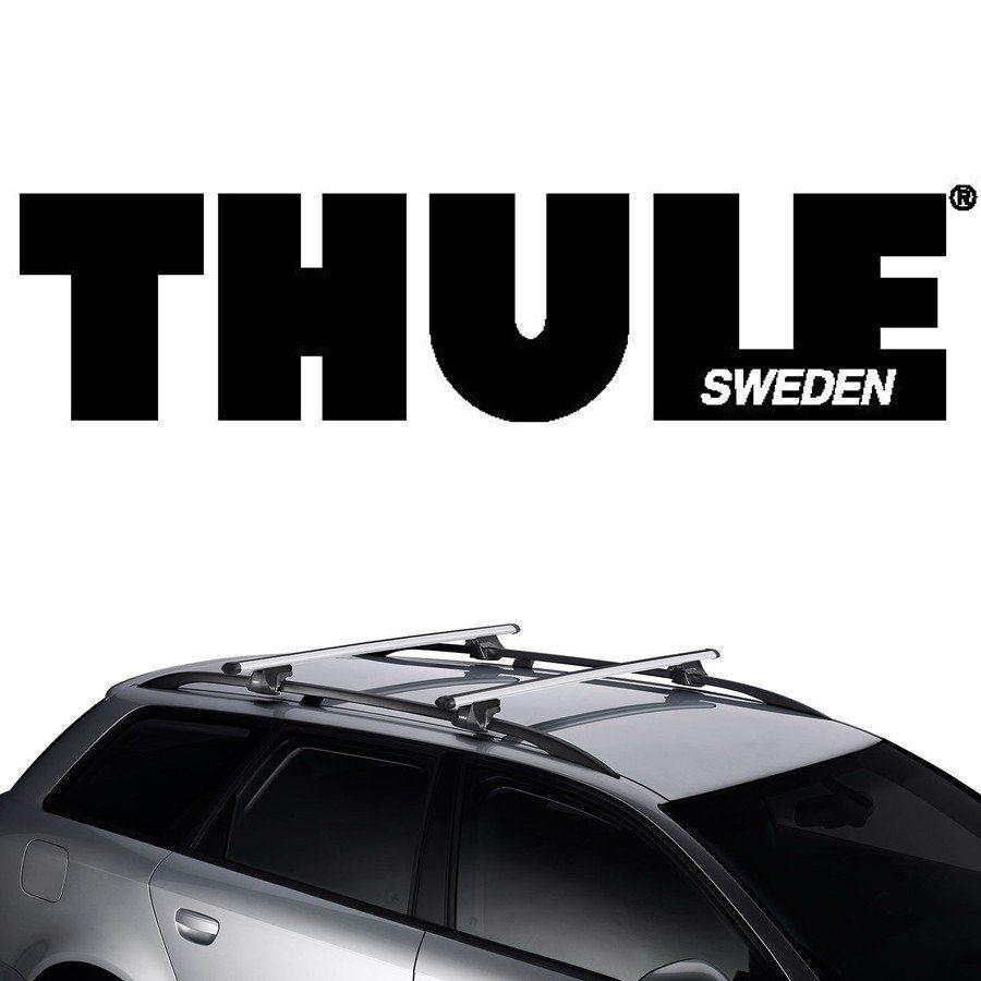 Rack Thule Travessa de Teto Smart 794 Peugeot 206 Sw 2002 03 04 05 06 07 08