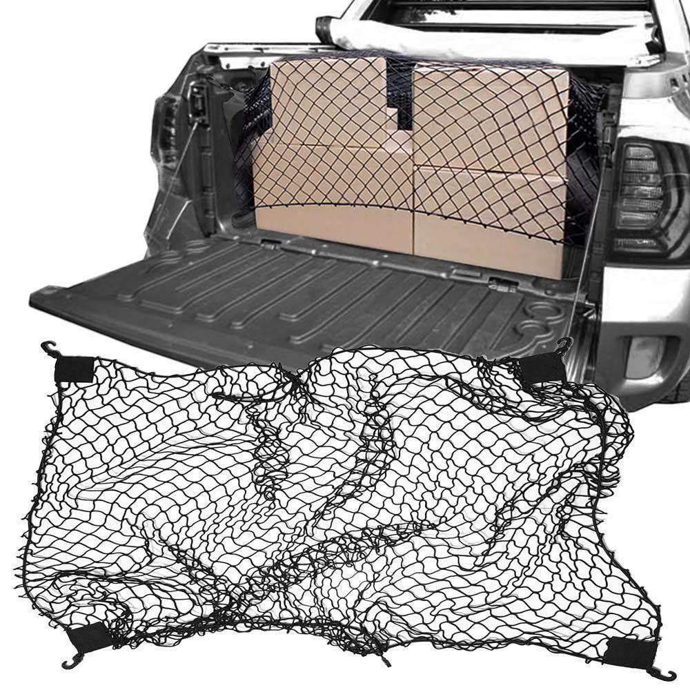 Rede Elástica de Caçamba Para Contenção de Bagagem CargoFix Big CargoNet Universal Renault Oroch