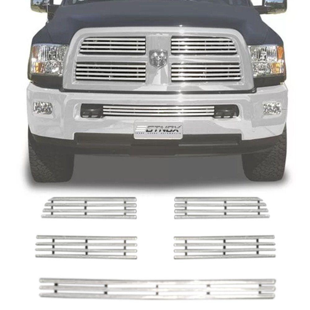 Sobre Grade Dodge Ram 2012 A 2016 Cromada Aço Inox Elite