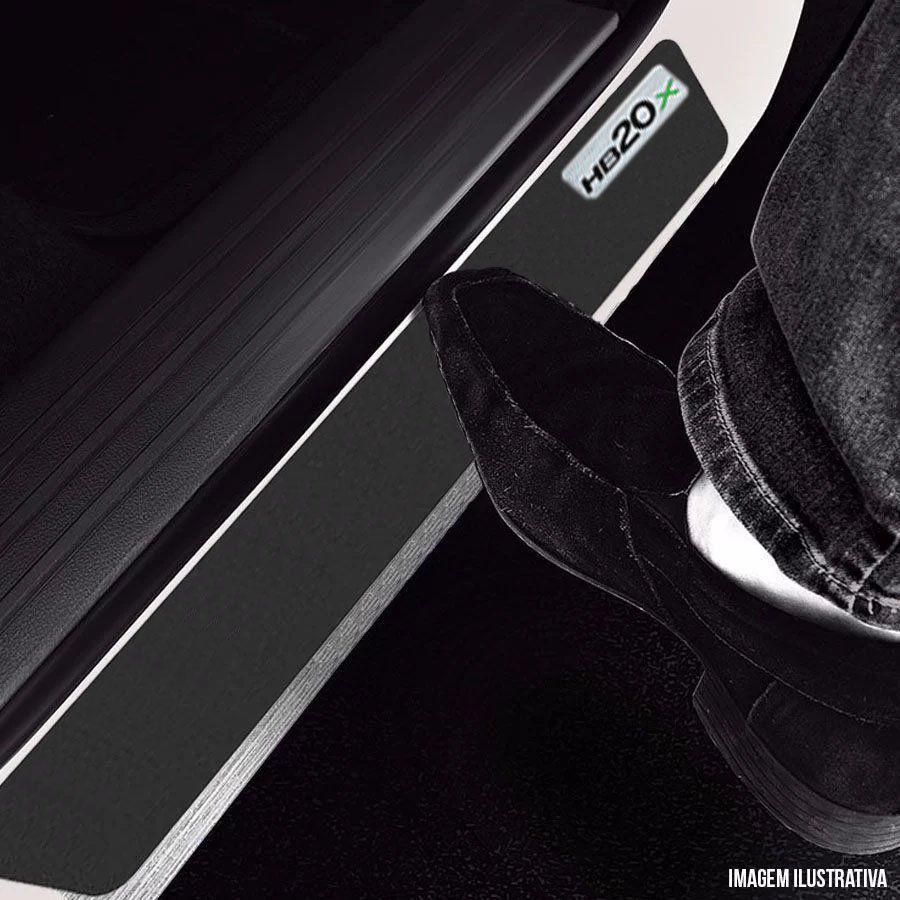 Soleira Resinada Mini Premium Hyundai Hb20x 2012 13 14 15 16 17 18 19 6 Peças