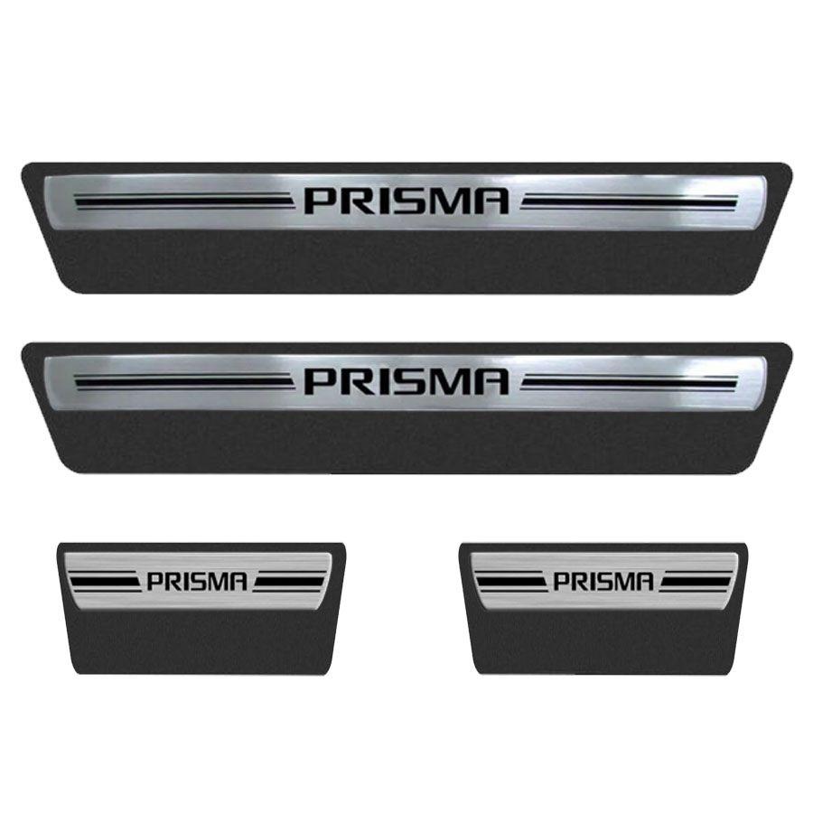 Soleira Resinada Premium Chevrolet Prisma 2013 14 15 16 17 18 8 Peças