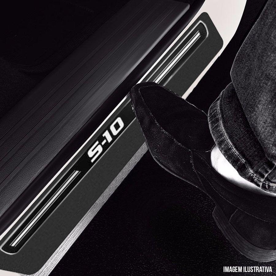 Soleira Resinada Premium Chevrolet S10 S-10 2012 13 14 15 8 Peças