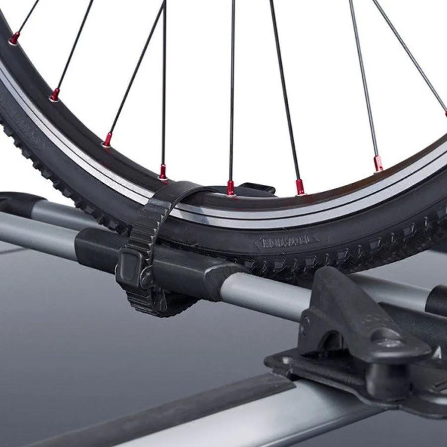 Suporte Transbike Para 1 Bicicleta Para Rack Teto Thule Freeride 532 Cinza 17Kg Peugeot 208 2021 /..
