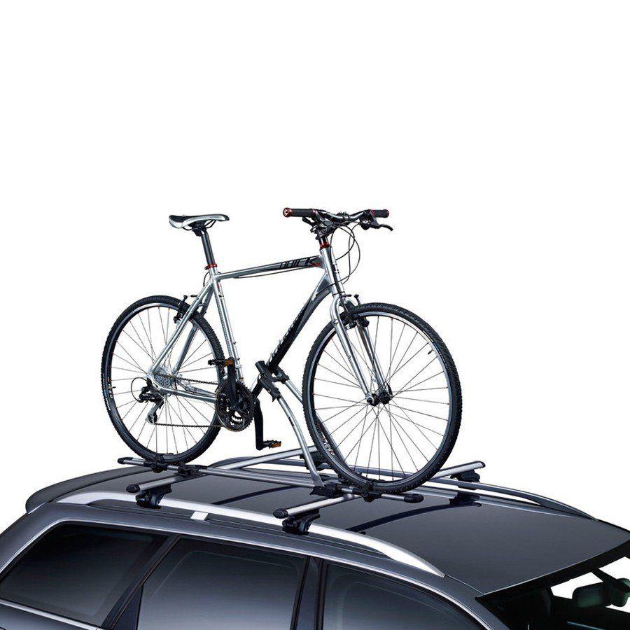 Suporte Transbike Para 1 Bicicleta Para Rack Teto Thule Freeride 532 Cinza 17Kg