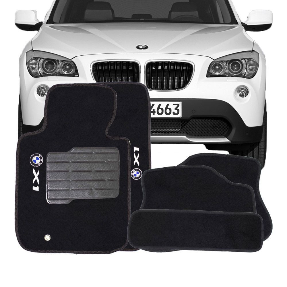 Tapete Carpete Tevic Bmw X1 2009 10 11 12 13 14 15