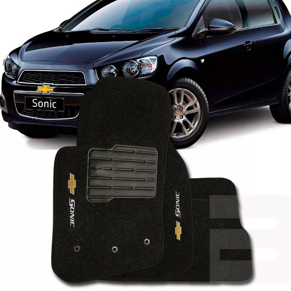Tapete Carpete Tevic Chevrolet Sonic 2012 13 14 15