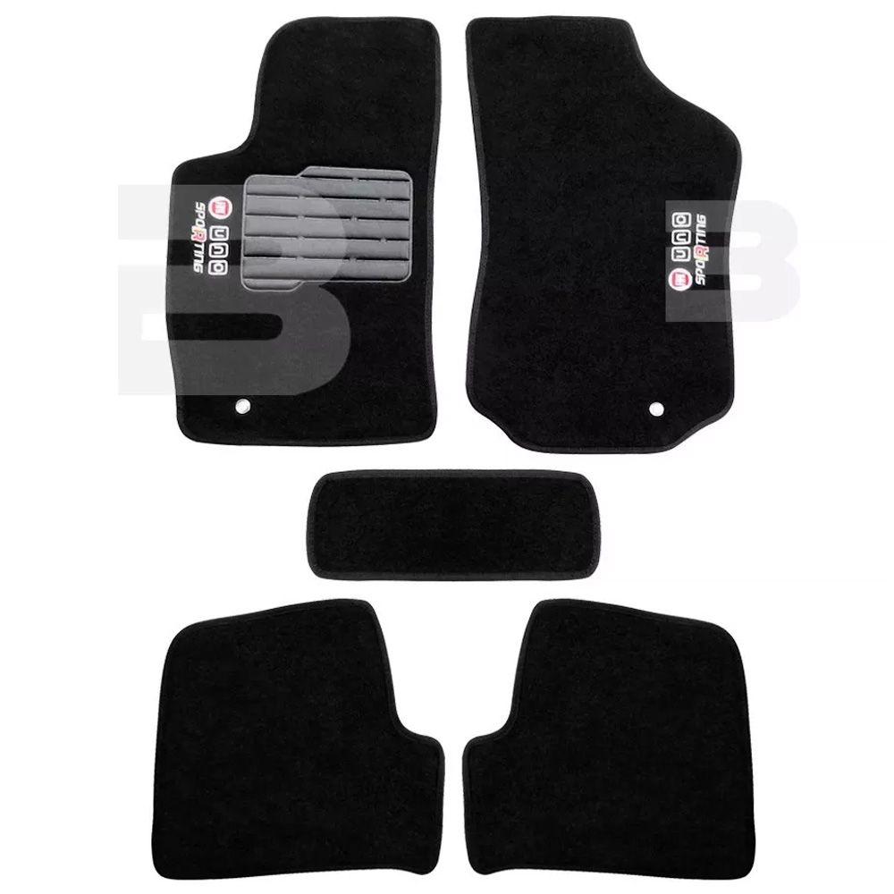 Tapete Carpete Tevic Fiat Uno Sporting 2011 12 13