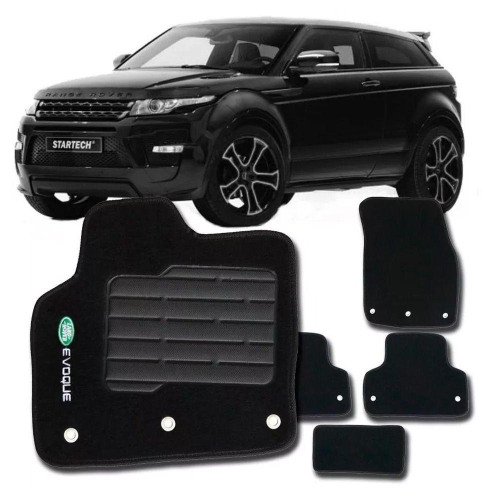 Tapete Carpete Tevic Land Rover Evoque 2011 12 13 14 15 16 17 18