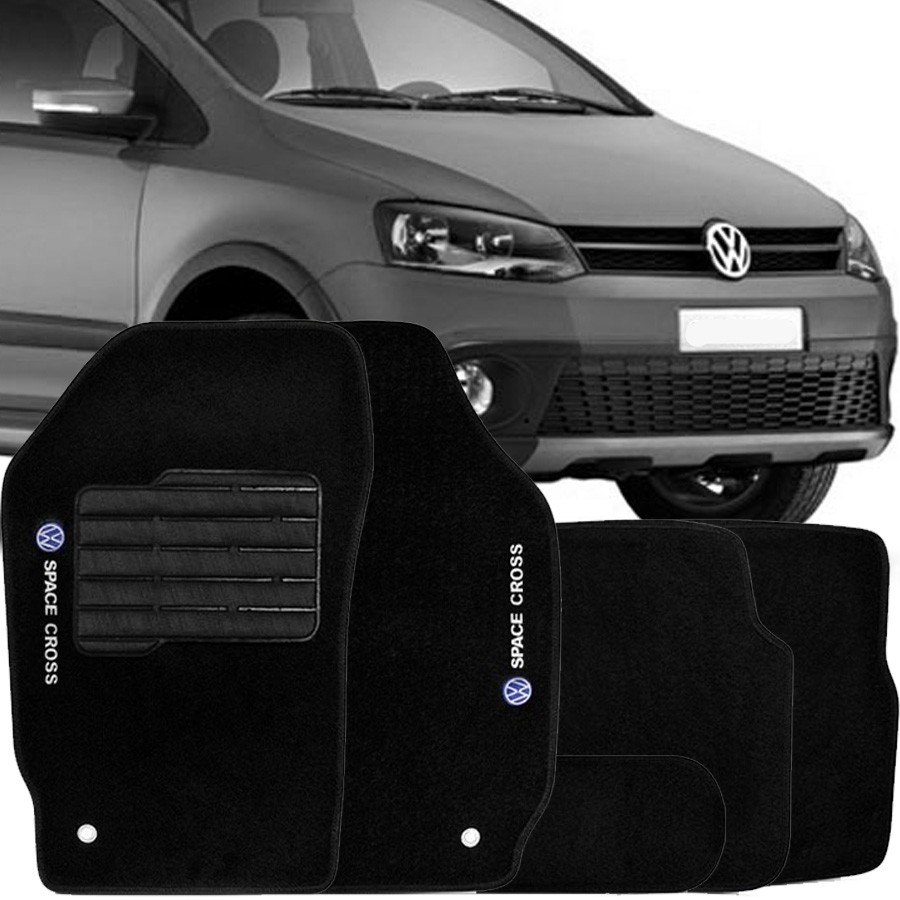 Tapete Carpete Tevic Volkswagen Space Cross 2004 05 06 07 08 09 10 11 12