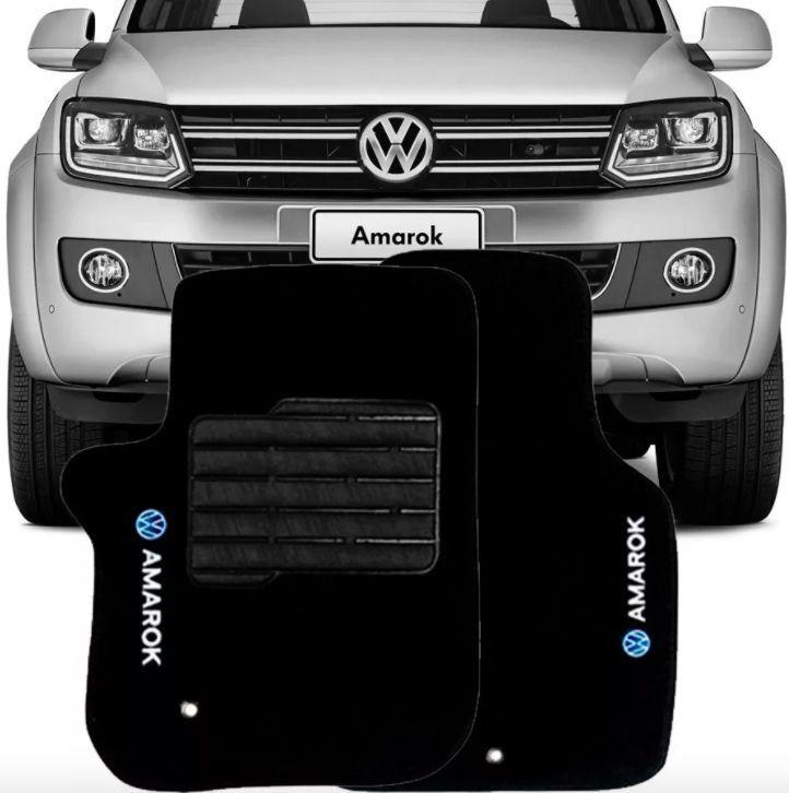 Tapete Carpete Tevic Volkswagen Amarok Cabine Simples 2010 11 12 13 14