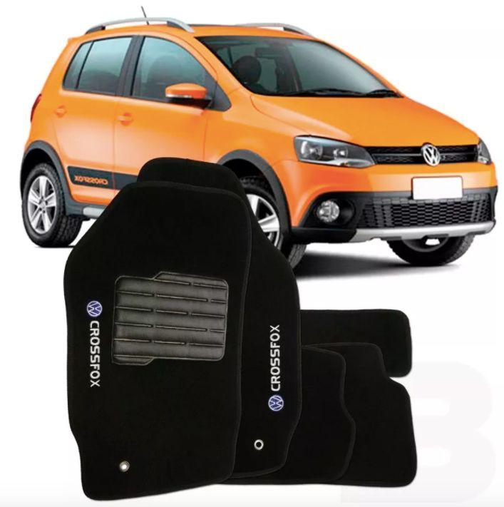 Tapete Carpete Tevic Volkswagen Crossfox 2004 Até 2009