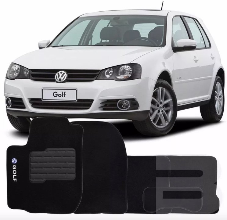 Tapete Carpete Tevic Volkswagen Golf 2008 09 10 11 12 13