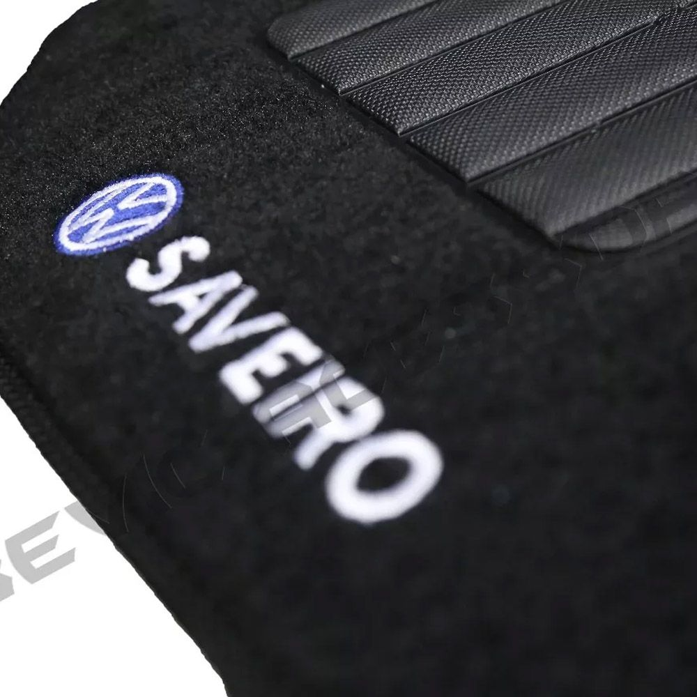 Tapete Carpete Tevic Volkswagen Saveiro G5 2010 11 12 13 14 Cabine Simples