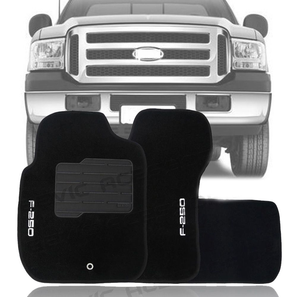 Tapete Carpete Tevic Ford F250 F-250 Cabine Simples 1999 Até 2011