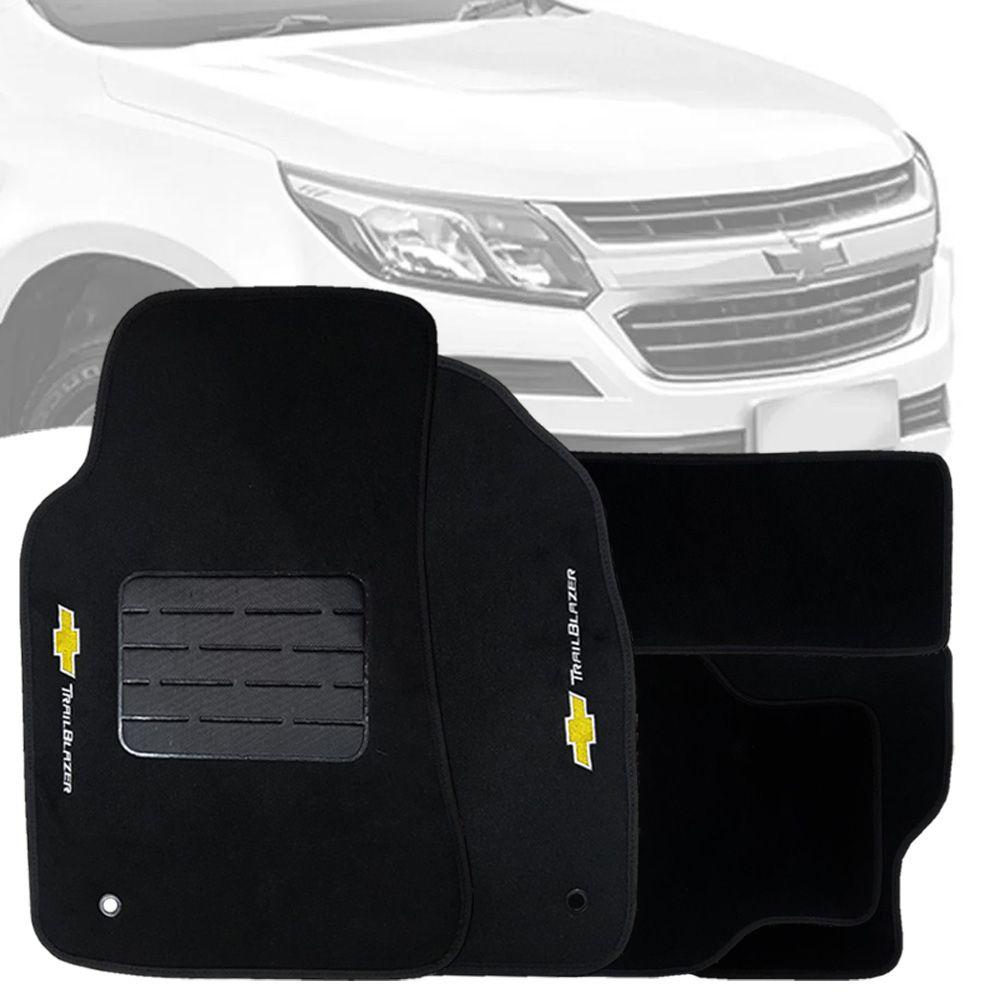 Tapete Carpete Tevic Chevrolet Trailblazer 2013 Até 2017