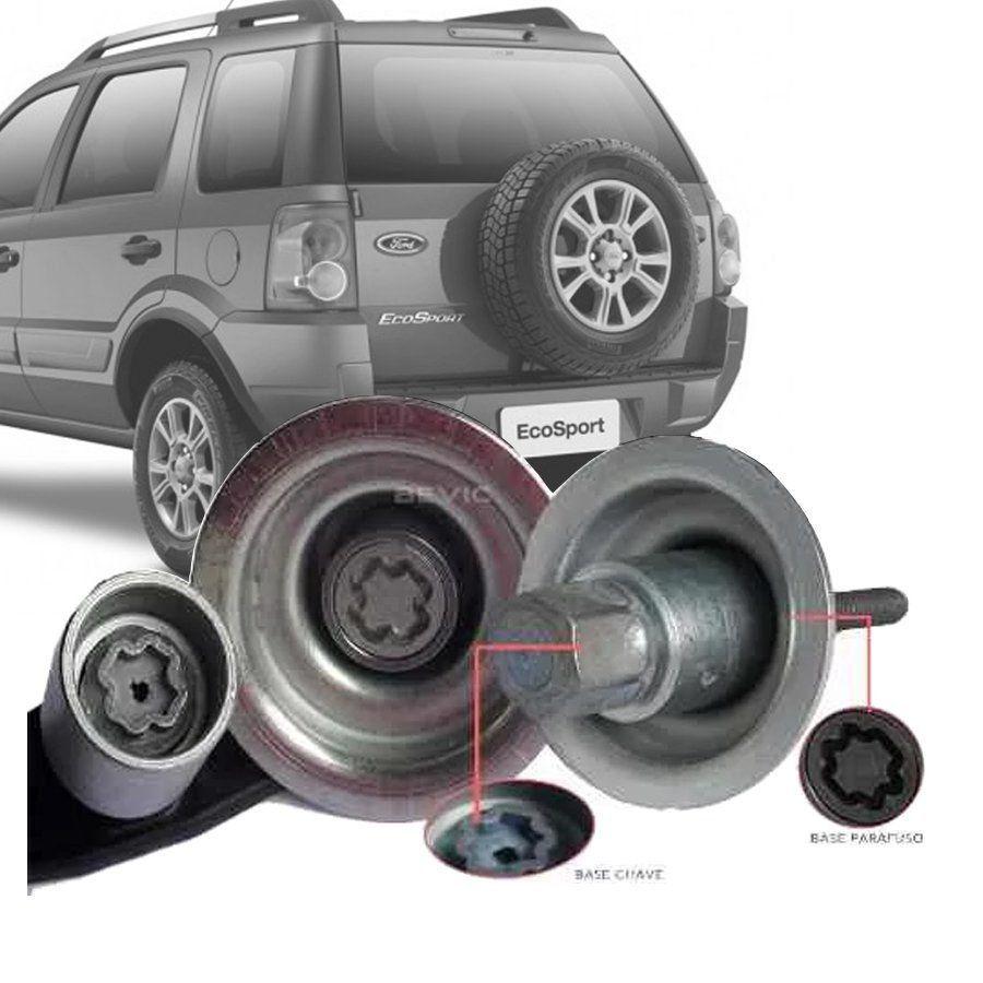 Trava Antifurto Anti Roubo Estepe Ford Ecosport 2003 a 2011 Sparelock Com Mais de 10.000 Segredos