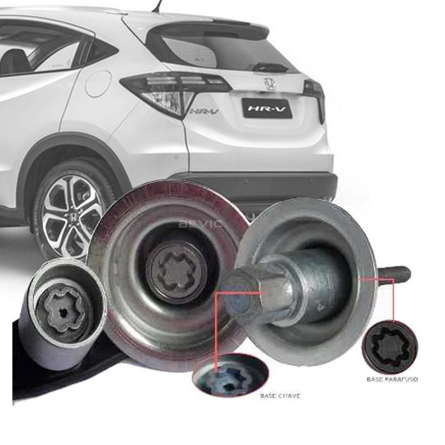 Trava Antifurto Anti Roubo Estepe Honda Hrv Hr-v Sparelock Com mais de 10.000 Segredos FT39