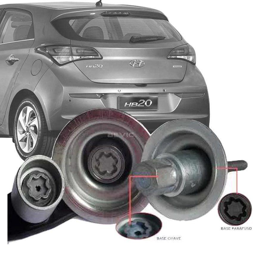 Trava Antifurto Anti Roubo Estepe Hyundai Hb20 Hb20s Hb20x Sparelock Com Mais de 10.000 Segredos