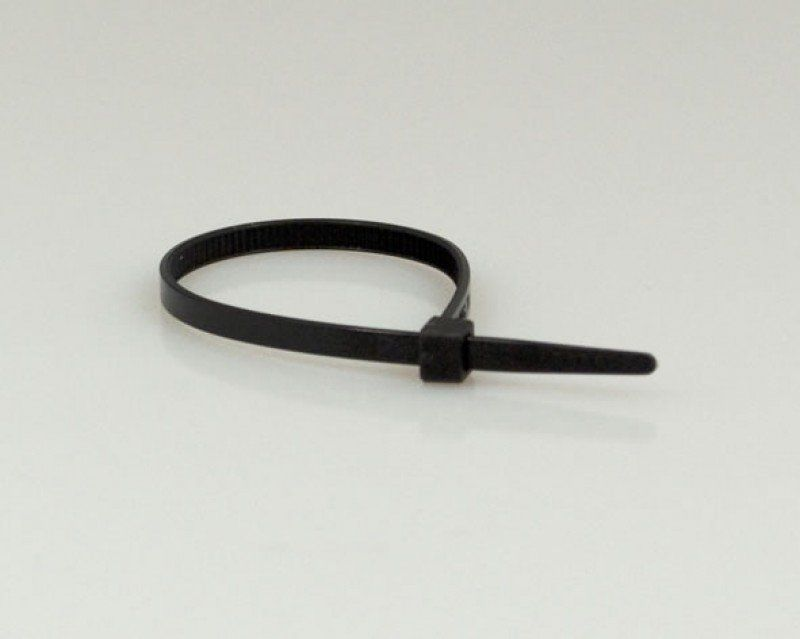 Abracadeira K8 C/ 50 Un Preta 10cm X 0,26cm