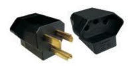 Adaptador 3 Pinos Plug Novo P/ Antiga Pote C/20 6fe508t