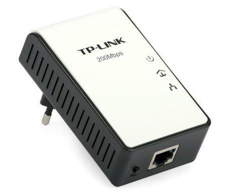 Adaptador Tp-Link Tl-Pa2010kit Starter Powerline Adapter 200mbps