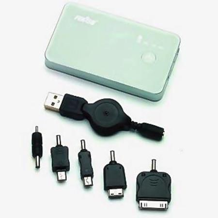 Bateria Portatil Feasso Ff-3000 3000mah P/ Diversos Produt. Digi.