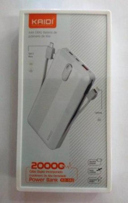 Bateria Portatil Power Bank 20000mah Kd-232