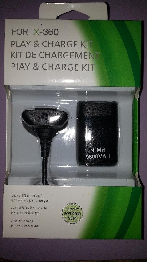 Baterias Recarregavel Para Controle Xbox ()