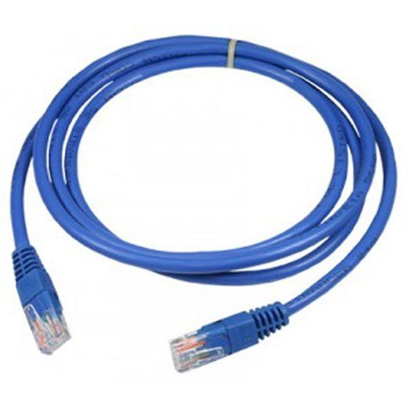 Cabo De Rede Patch Cord Cat.5 5m Sinal Cca 24awg Wi212