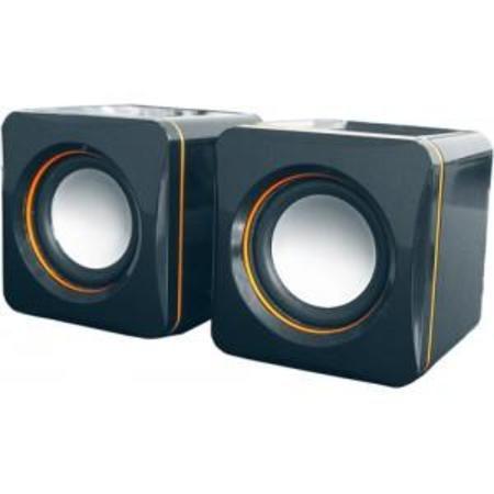 Caixa De Som Cubo Amplificada P/ Pc Mod. E-101 C1902 Cs 39