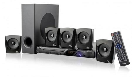 Caixa De Som Mini System 5.1 100w Rm Multilaser Sp148
