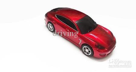Caixa De Som Portatil Carro Porsche Entrada Micro Sd/Usb E Radio Fm