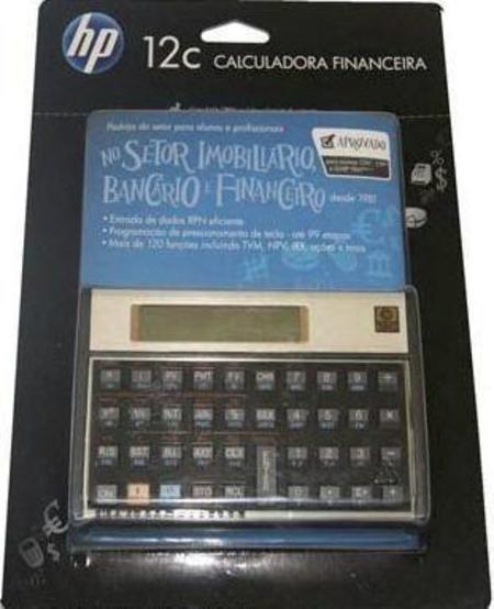 Calculadora Hp 12c Financ. Portugues
