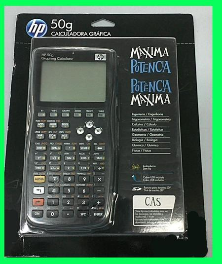 Calculadora Hp Grafica 50g(Manual Portugues)