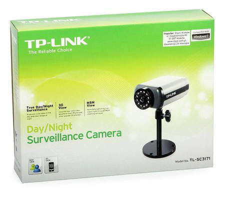 Camera Ip Tp-Link Tl-Sc3171 Wireless