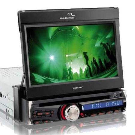 Carro Toca Dvd Multilaser P3156 7,0